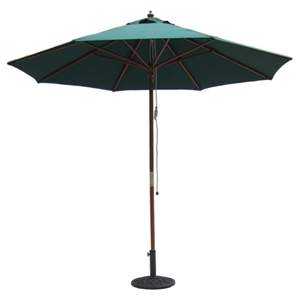 9 Outdoor Hunter Green Umbrella