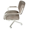 Almond Finish Swivel and Tilt Arm Chair - IC-C108-31YP