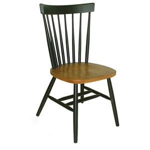 Copenhagen Chair in Black and Cherry