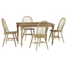 Natural Solid Wood Top Dining Table - IC-T01-3048