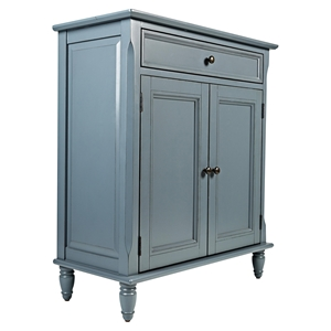 Avignon Accent Cabinet - Cornflower Blue