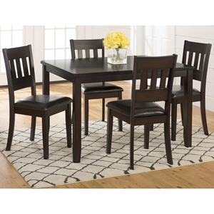 Dark Roast 5 Pieces Dining Set