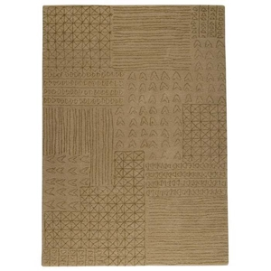 Misha Hand Tufted Wool Rug in Beige