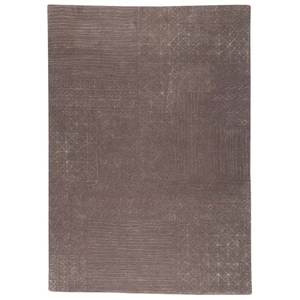 Misha Hand Tufted Wool Rug in Grey