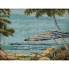 Beach Full Size Futon Cover - LSC-G-BEACH