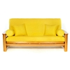 Yellow Futon Cover - Full Size - LSC-A-YELLOW