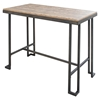 Roman Counter Table - Wooden Top, Antique Frame
