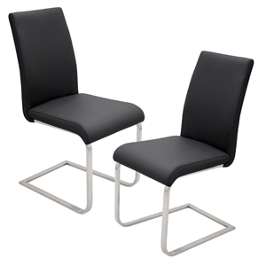 Foster Dining Chair - Black (Set of 2)