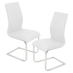 Foster Dining Chair - White (Set of 2)