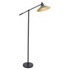Paddy Floor Lamp Black Gold Dcg S