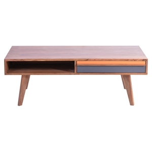 Bliss Coffee Table - 1 Drawer, Natural