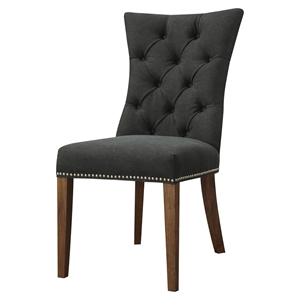 Barclay Upholstery Accent Chair - Black (Set of 2)