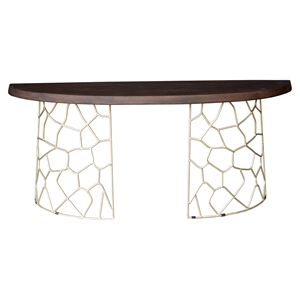 Ario Console Table - Light Brown