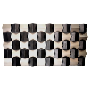 Checkered Rectangular Wall Decor