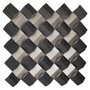 Checkered Wall Decor - Square