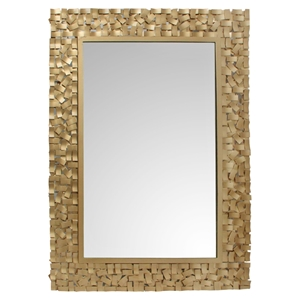 Pastiche Rectangular Mirror - Gold