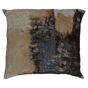 Brushstrokes Velvet Cushion - Feather Insert