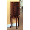Heartfire Jewelry Armoire - Wood, Walnut Finish - MNRH-I-1045