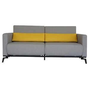Sofa Bed - 16 - Brown, Yellow