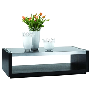 Cota Coffee Table - Black, Oak Ash