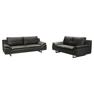 Obbe Sofa and Loveseat - Gray