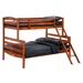 Sesame Twin Over Full Bunk Bed - NDF-SES-TWNFUL