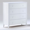 Zest Four Drawer Chest - NDF-YCD-ZES-4A-X