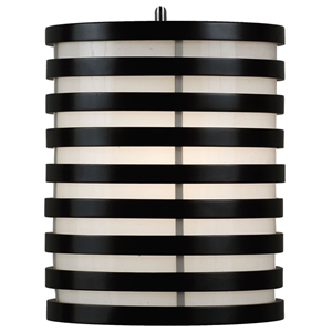 Kobe Round Striped Wall Sconce