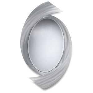 Boomerang Oval Console Mirror
