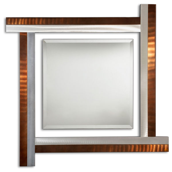 Get Together Square Mirror