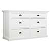Halifax 6-Drawer Dresser - Pure White - NSOLO-B182