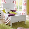 Halifax Twin Bed - Pure White - NSOLO-BSU001