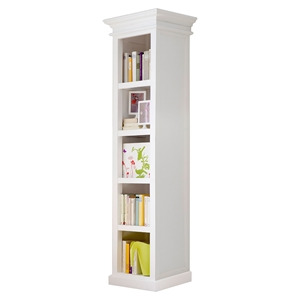Halifax Bookshelf - Pure White