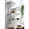 Halifax Floating Medium Wall Shelf - Pure White - NSOLO-D164