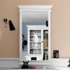 Halifax Portrait Rectangular Mirror - Pure White - NSOLO-P71