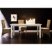 "Halifax 63"" Rectangular Dining Table - Pure White - NSOLO-T759-160"