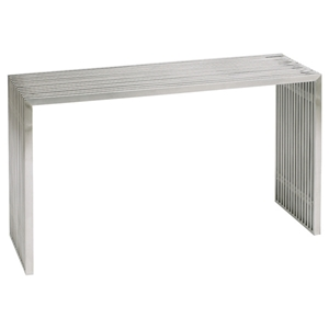 Amici Stainless Steel Console Table