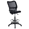 Space Seating 13 Series Deluxe Black Drafting Chair - OSP-13-37N20D