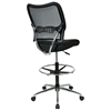 Space Seating 13 Series Deluxe AirGrid Back Drafting Chair with Adjustable Foot Ring - OSP-13-37P500D