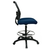 Space Seating 13 Series AirGrid Back and Custom Fabric Seat Drafting Chair - OSP-13-7N20D