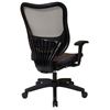 Space Seating 18 Series Latte AirGrid Seat and Back Executive Chair - OSP-18-88N28P