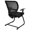 Space Seating 55 Series Professional Mesh Seat Visitor's Chair - OSP-5505