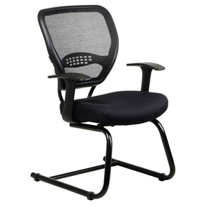 Space Seating 55 Series Professional Mesh Seat Visitors Chair