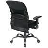 Pro-Line II Ergonomic Black Mesh Back and Fabric Seat Office Chair - OSP-7161