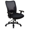 Space Seating 75 Series Double AirGrid Back and Mesh Seat Ergonomic Chair - OSP-75-37A773