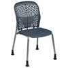 Space Seating 801 Series Deluxe SpaceFlex Visitor's Chair with Platinum Frame (Set of 2) - OSP-801-X6G