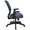 Space Seating 829 Series Blue Mesh Seat and Back Office Chair - OSP-829-1N7U