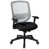 Space Seating 829 Series White DuraFlex Back Office Chair - OSP-829-3R1C728P