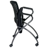 Pro-Line II Folding Deluxe Chair with Ventilated Back and Casters (Set of 2) - OSP-84330