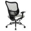 Space Seating 88 EPICC Series White Executive Chair with SpaceFlex Back - OSP-88-Y22BP91A8